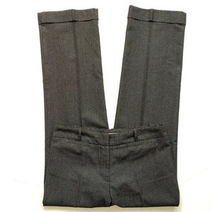 In Moda Black Cuffed Dress Pants Bootcut